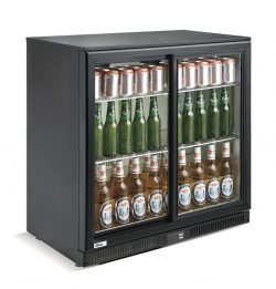 Back bar -  - single dør 228L