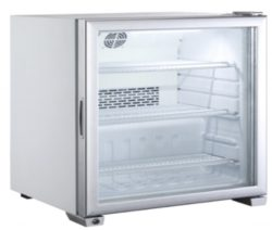 Countertop display freezer