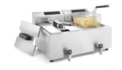 Digital Mastercook friture m. taphane - 2x 8L
